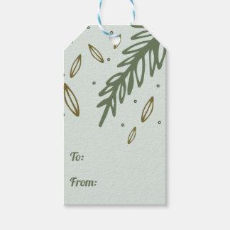 Merry Christmas Custom Gift Tag