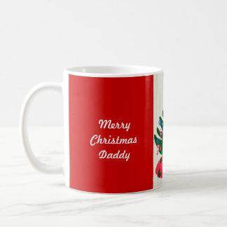 Merry Christmas Daddy Decorated Tree Mug CUSTOMIZE Mug