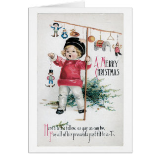 """Merry Christmas - Fit to a """"T"""" Greeting Card"""