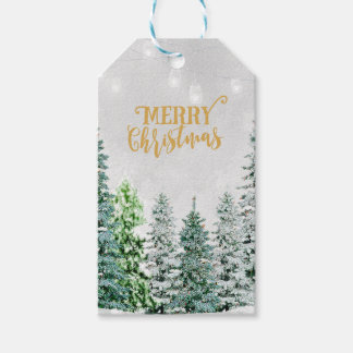 Merry Christmas gift tags add your message