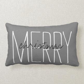 'Merry Christmas' Holiday Home Decor Throw Pillow