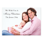 Merry Christmas Holiday Photo Card