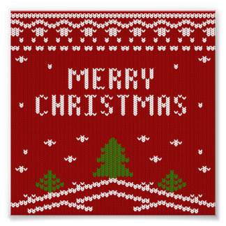 merry Christmas,knitting,pattern,green,red,cozy,tr Photo