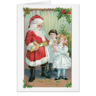 Merry Christmas, Little Girl! Greeting Card