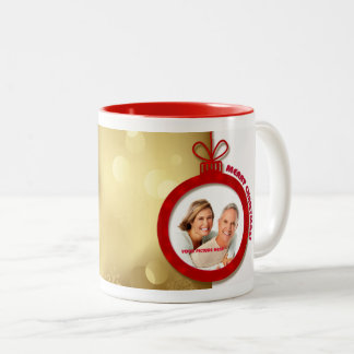 Merry Christmas. Personalized Christmas Mugs