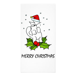 Merry Christmas Personalised Photo Card