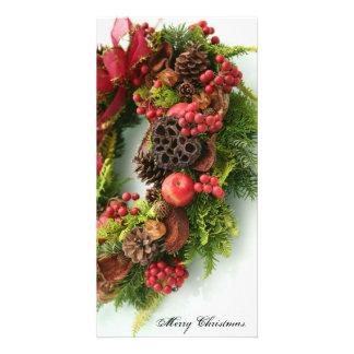 Merry Christmas. Photo cards B