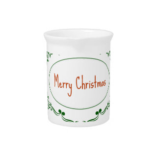 Merry Christmas! Pitcher