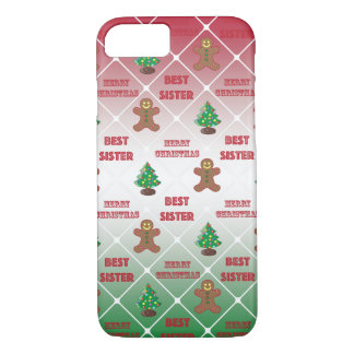 Merry Christmas to best sister iPhone 8/7 Case