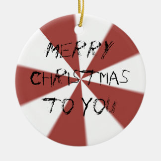 Merry Christmas to You ornament
