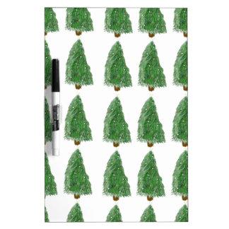 merry christmas tree dry erase board