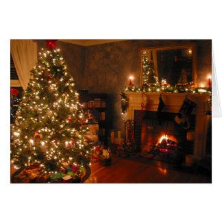Merry Christmas Tree Greeting Card