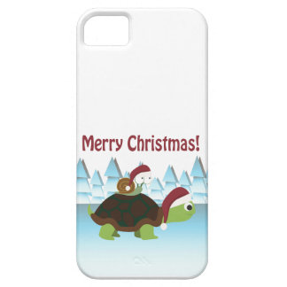 Merry Christmas! Turtle and Snail Case For The iPhone 5
