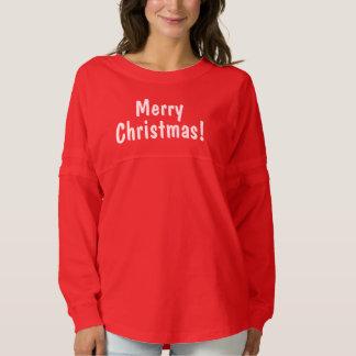 Merry Christmas! Women's Spirit Jersey