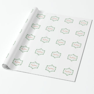 Merry Christmas! Wrapping Paper
