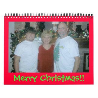 Merry Christmas!! Wall Calendar