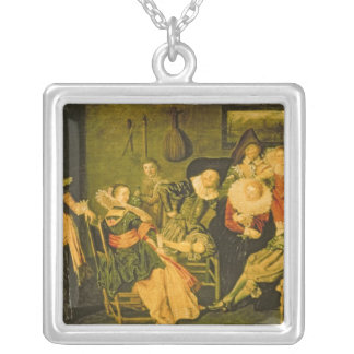 Merry Company Silver Plated Necklace