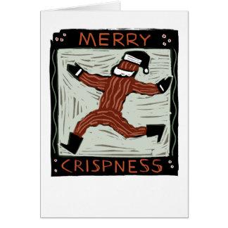 """Merry Crispness"" card"