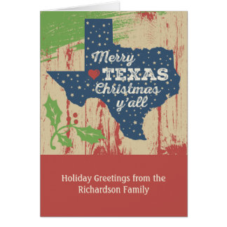 Merry Texas Christmas Cards & Invitations | Zazzle.co.nz