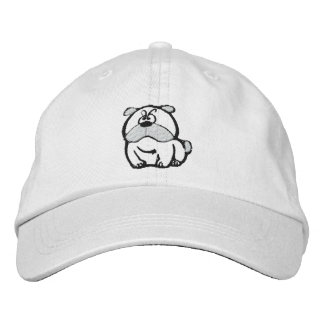 Mesmerizing Bulldog Embroidered Hat