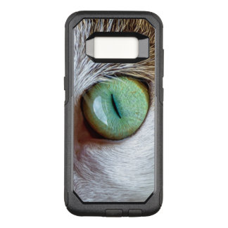 Mesmerizing Green Cat's Eye OtterBox Commuter Samsung Galaxy S8 Case