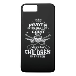 Mess With My Children iPhone 7 Plus Case