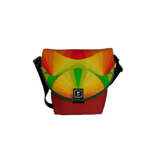 Messenger Bag - Citrus Fans