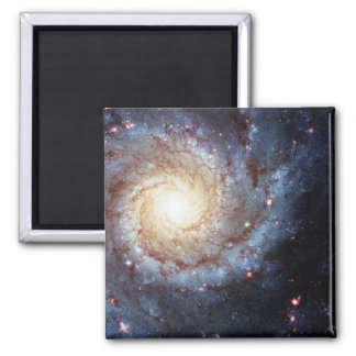 Messier 74 (outer space galaxy) ~.jpg square magnet