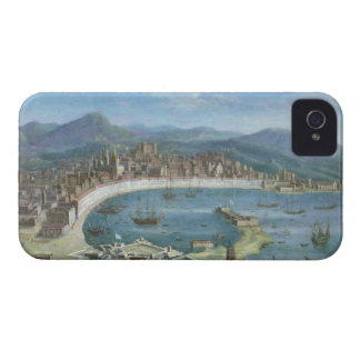 Messina - a Panoramic View of the Port iPhone 4 Case