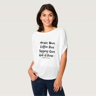 Messy Bun Kids Consignment Shirt