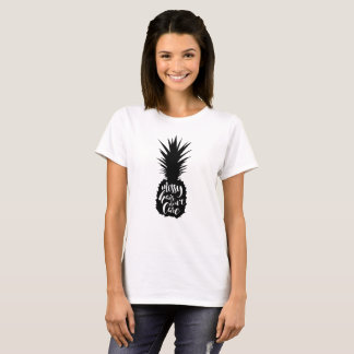 Messy Hair Pineapple T-Shirt