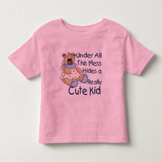 Messy Kid Tee Shirts