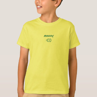 messy monkey - :(|) see :(|) do tee shirt