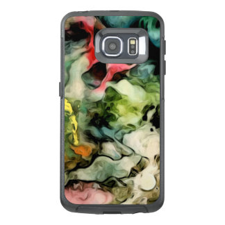 Messy Palette Abstract Pattern OtterBox Samsung Galaxy S6 Edge Case