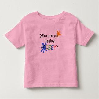 Messy Tee Shirts