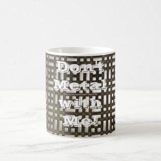 Metal - 6 Morphing, Don't Metal with Me! 3D Morphing Mug