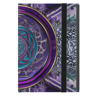 Metal Armored Fractal Tapestry Celtic Knot iPad Mini Cover