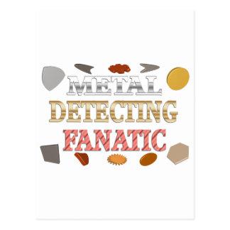 Metal Detecting Fanatic Postcard