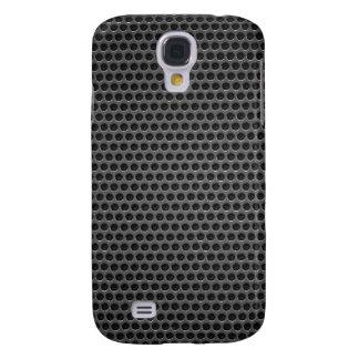metal grating mesh pattern galaxy s4 case