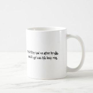 Metal Mickey Souvenir Mug