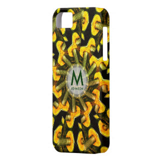 Metal Mushrooms Geometric Spiral iPhone 5 Case