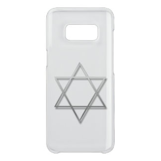 Metal Star of David with shadow samsung case