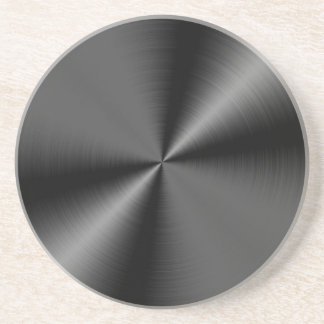 Metal Style Sandstone Coaster