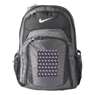 metal Weave blue (I) Backpack