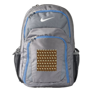 metal Weave golden (I) Backpack