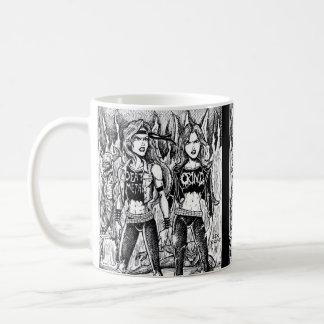 Metal Women Coffee Mug