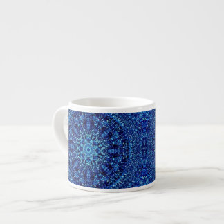 Metallic Blue Espresso Cup