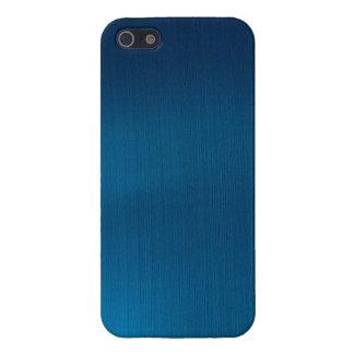 Metallic Deep Ocean Blue Case For iPhone 5/5S