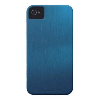 Metallic Deep Ocean Blue Case-Mate iPhone 4 Cases