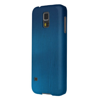 Metallic Deep Ocean Blue Galaxy S5 Cases